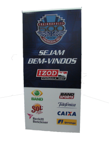 Indianapolis 500 pop-up banner