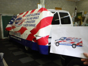 Amerestore Van Graphics Design - Stan's Sign Design