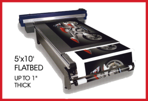 UV Flatbed Printer - Direct to Surface Printing at Stan's Sign Design