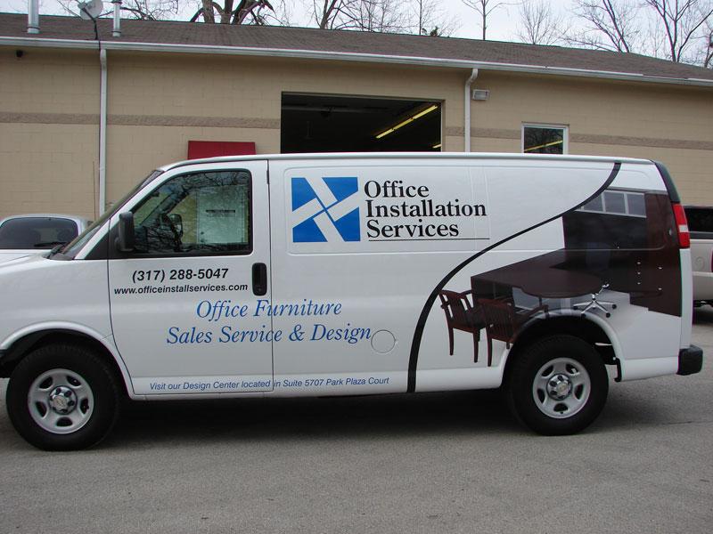 office-installation-van-2