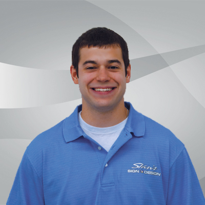 Pat Myers, Production Manager at Stan's Sign Design